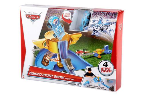 Cars Stunt Racers Dinoco Stunt Show Stunt Set
