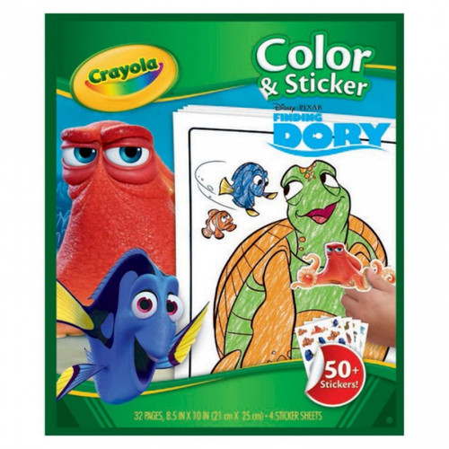Crayola Finding Dory Color & Sticker Book