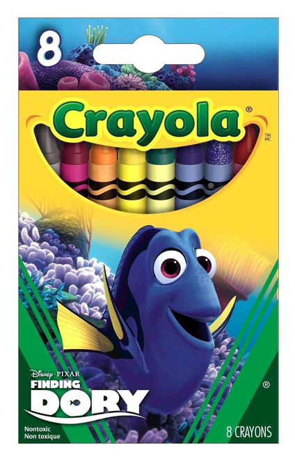 Crayola 8 ct. Finding Dory Crayons, Dory