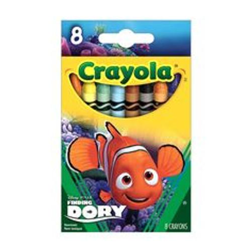 Crayola 8ct. Finding Dory, Nemo