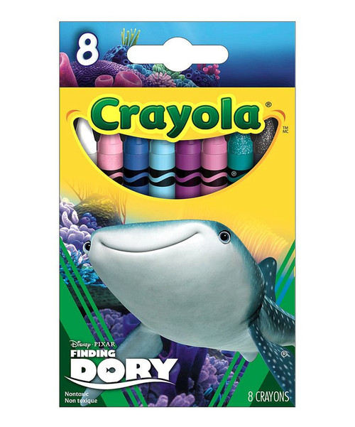 Crayola Crayons 8 ct. Finding Dory, Destiny