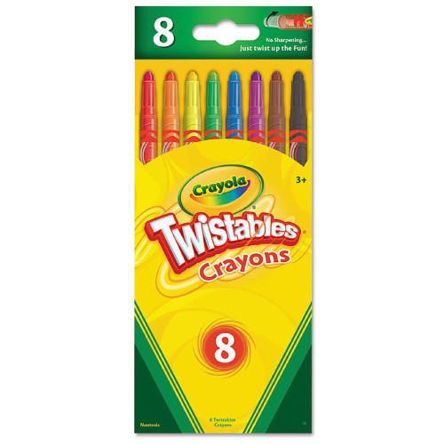 Crayola Twistable Crayons 8 Colors