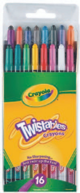 Crayola Twistable Crayons 16 Ct.