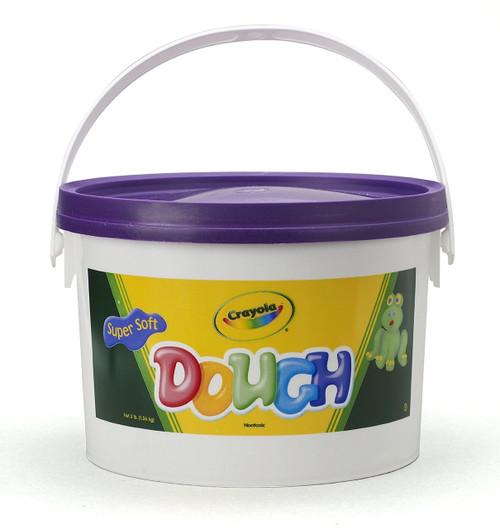 Crayola Dough 3-lb Bucket-Purple