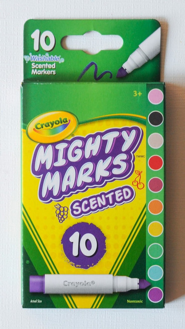 Crayola Mighty Marks Markers SCENTED 10ct.