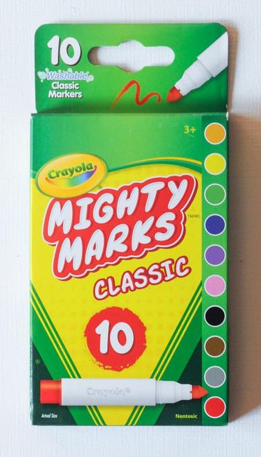 Crayola Mighty Marks Classic Market 10ct.