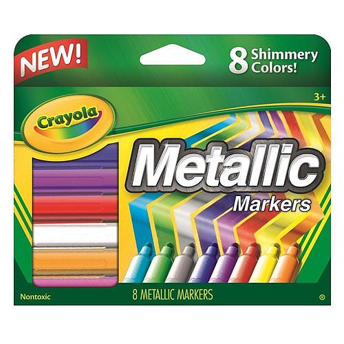 Crayola Metallic Markers 8-Count
