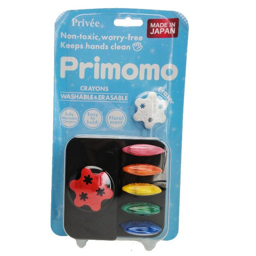 Primomo Crayon Flower 6 colours BP