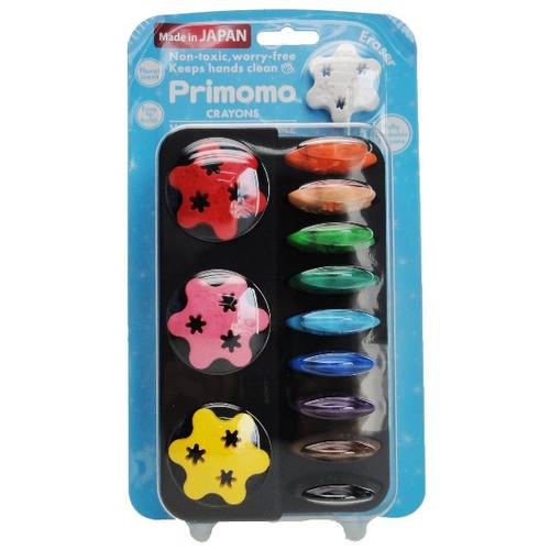 Primomo Crayon Flower 12 colors BP