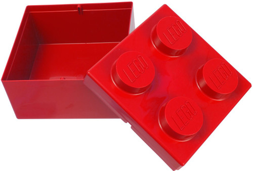 2x2 LEGO Box Red