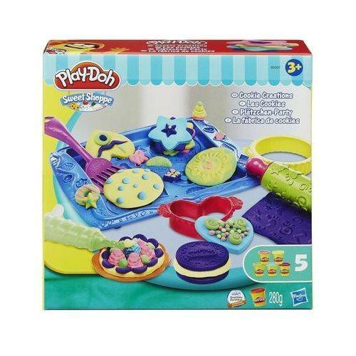 Play-Doh Sweet Shoppe Cookie Creations Moulding Dough Accessory Kit