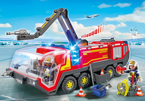 Airport Fire Engine with Lights and Sound