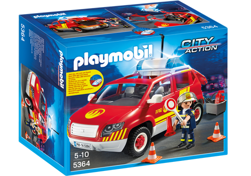 Fire Chief´s Car with Lights and Sound