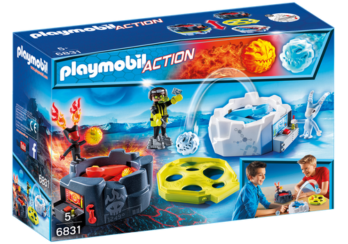 Fire & Ice Action Game