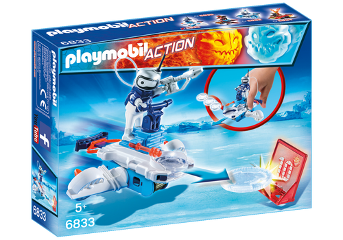 Icebot with Disc Shooter