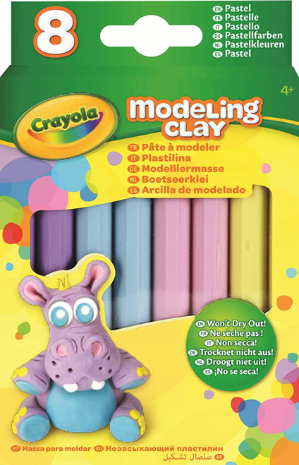 Modeling Clay Pastel, 8 ct