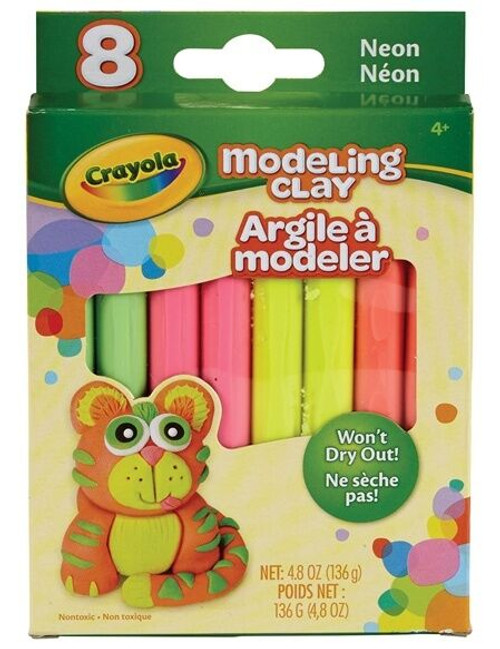 Modelling Clay NEON, 8 ct.
