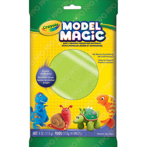 Model Magic Neon Green 4oz