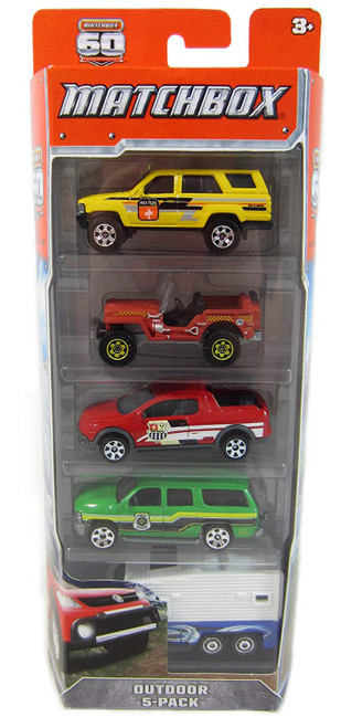 MATCH BOX 5 CAR PK ASSORTMENT