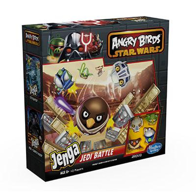 Hasbro Angry Birds Star Wars JENGA Jedi Battle Game A4803E240