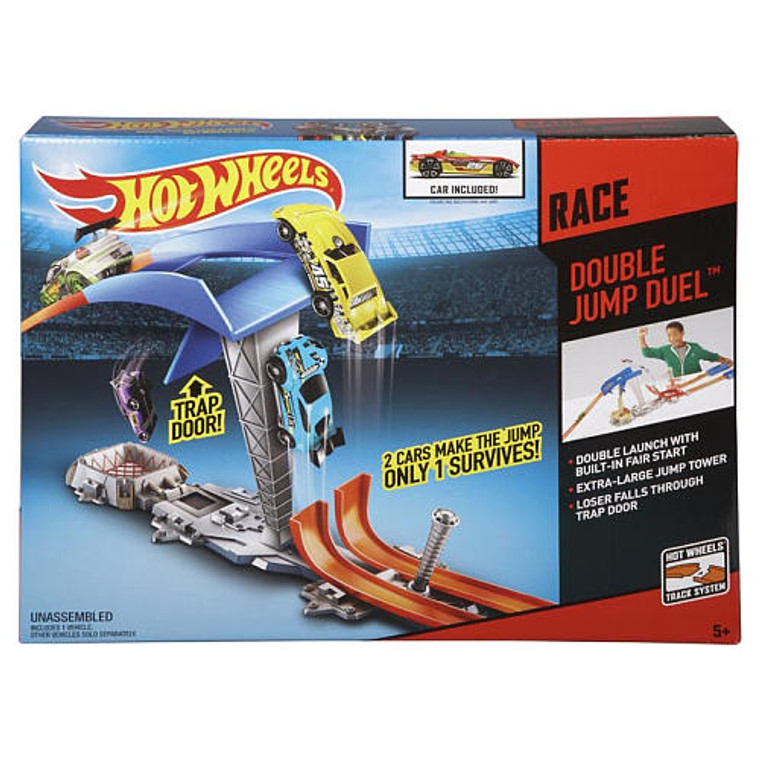 Hot Wheels Double Jump Duel™ Track