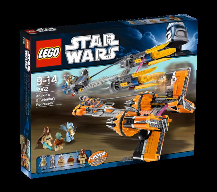 LEGO Anakin's & Sebulba's Podracers (TM) 7962