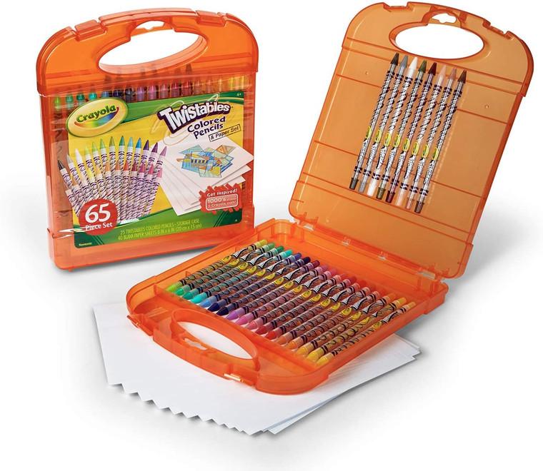 Crayola Twistables Colored Pencils Kit 04-5225