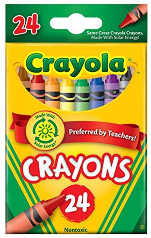 Crayola 24ct Crayons 52-3024