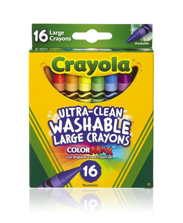 Crayola 16 ct Ultra Clean Washable Crayons 52-3281