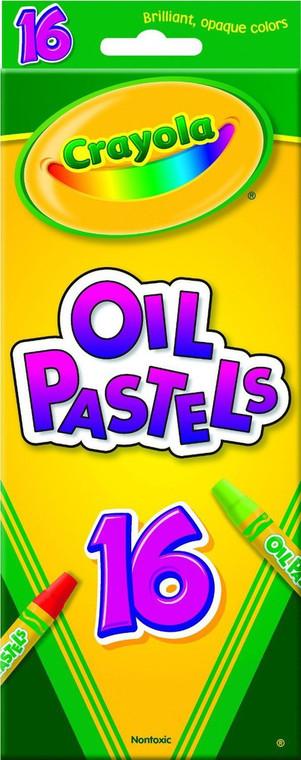 Crayola 16ct Oil Pastels 52-4616