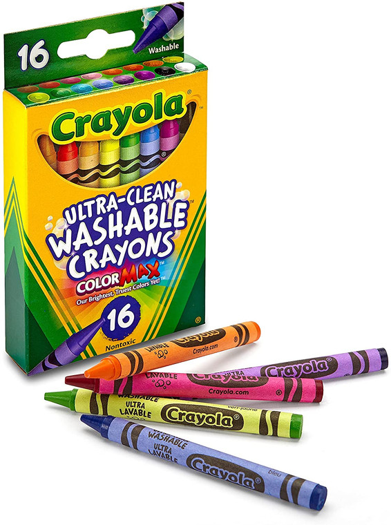 Ultra Clean Washable Crayons 16 Ct.