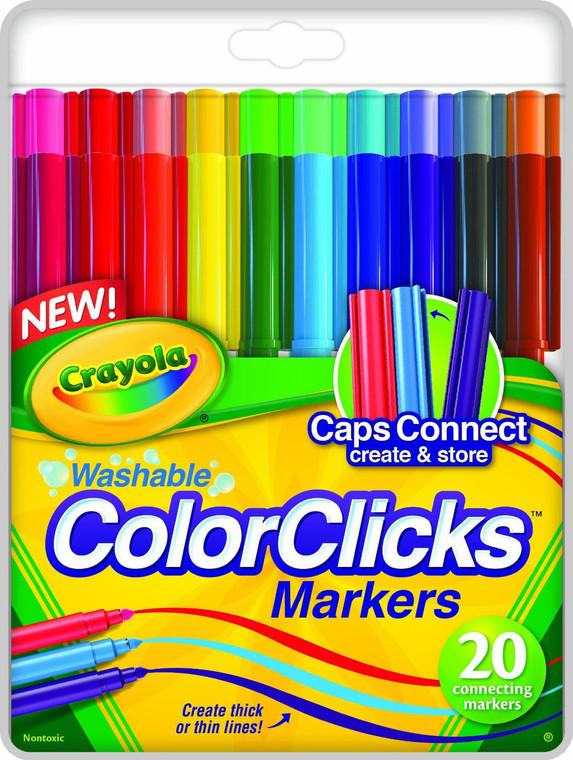 Crayola 20ct. Color Clicks - New 58-8186