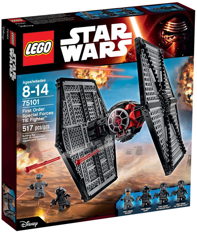LEGO First Order Special Forces TIE Fighter 75101