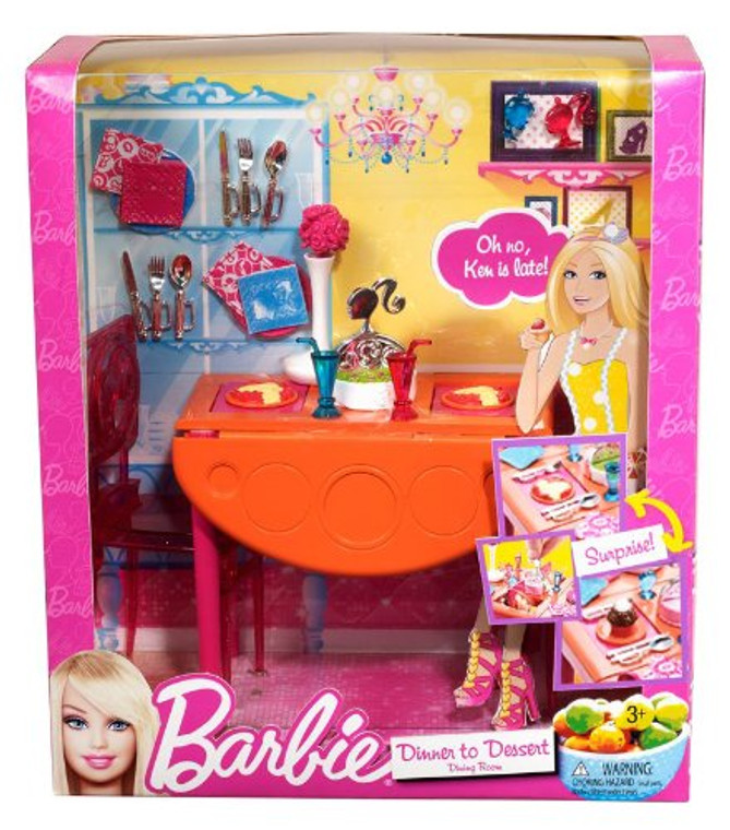 Barbie BRB DINING ROOM T7536