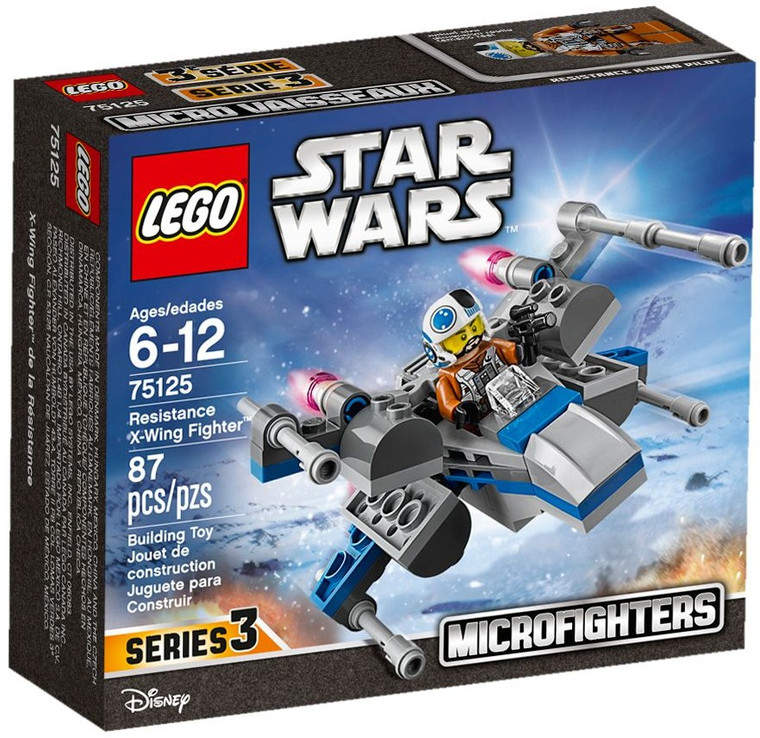 LEGO Resistance X-Wing Fighter-16 75125