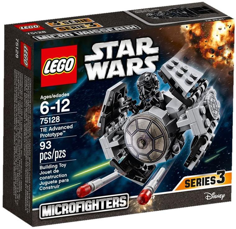 LEGO TIE Advanced Prototype-16 75128