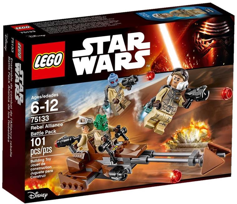LEGO Rebel Alliance Battle Pack-16 75133