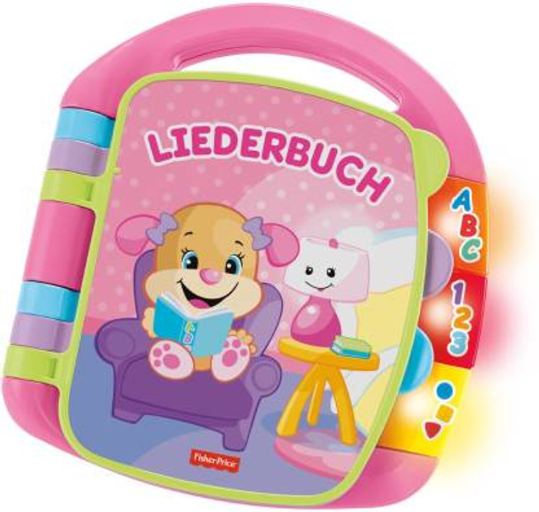 Fisher Price Laugh N Learn Story Books Rhymes LIEDERBUCH DLF26