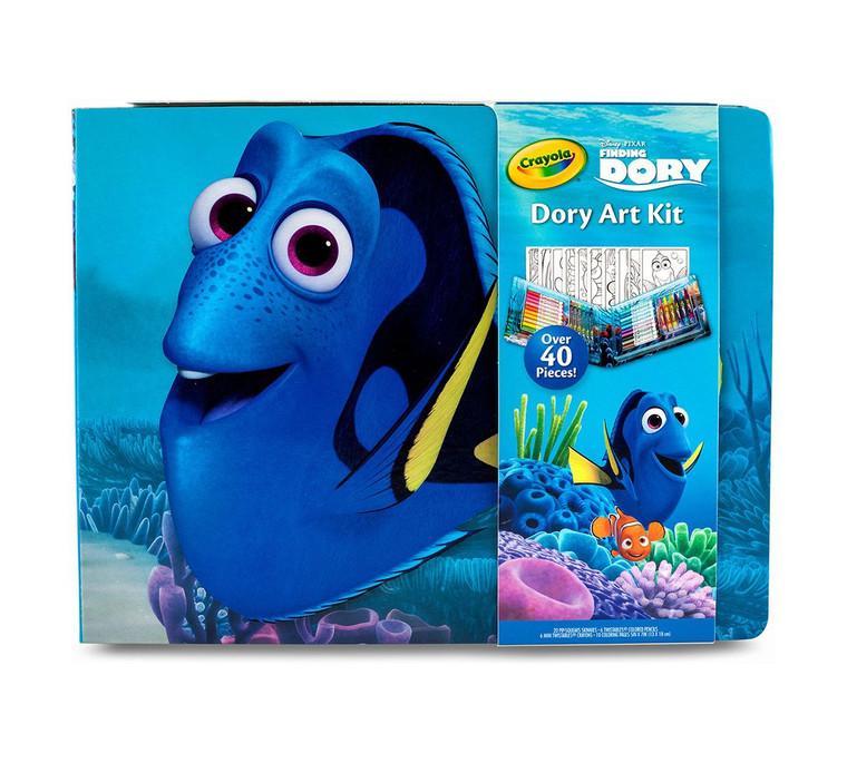 Crayola Small Dory Art Kit, Finding Dory 0420140000