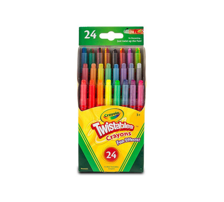 Fun Effects! Twistables Crayons 24 ct
