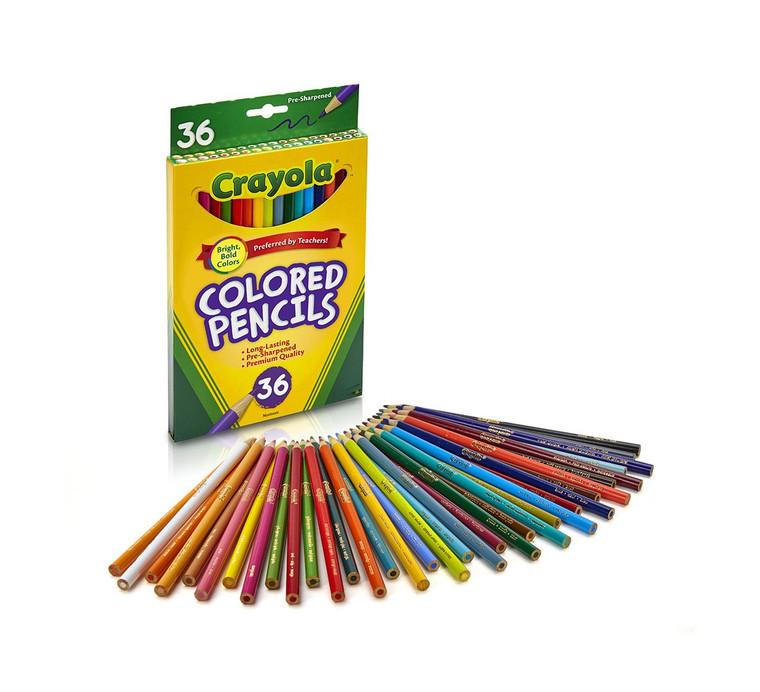 Crayola Colored Pencils, Long 36 ct. 6840362019