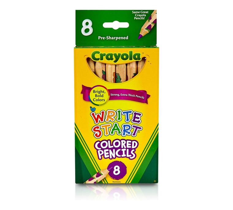 Crayola Write Start Colored Pencils 8 ct. 6841081012
