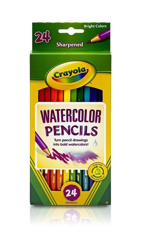 Crayola Crayola, Watercolor Pencils, 24 Pieces 6843040014