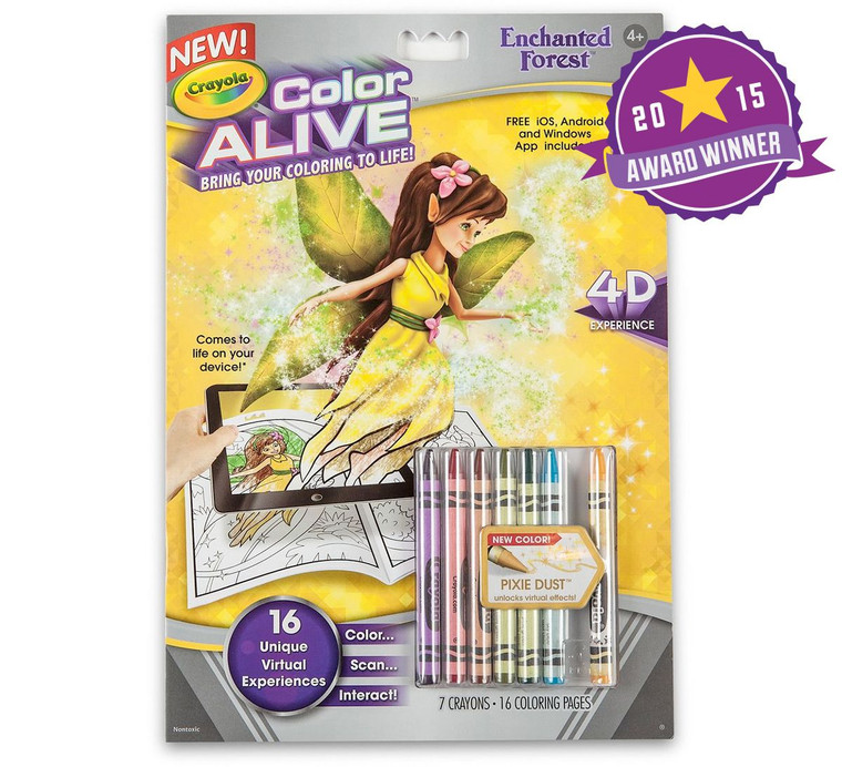 Crayola Color Alive - Enchanted Forest 9510470000