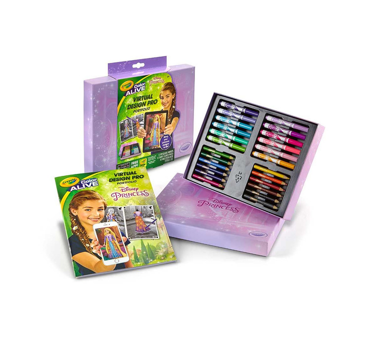 Crayola Virtual Design Pro Portfolio Princess 9510700000