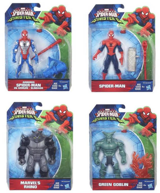 Hasbro Spider Man Sinister 6 Assorted B5758EU40