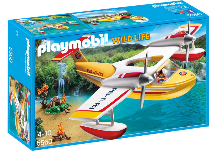 Playmobil Firefighting Seaplane 5560