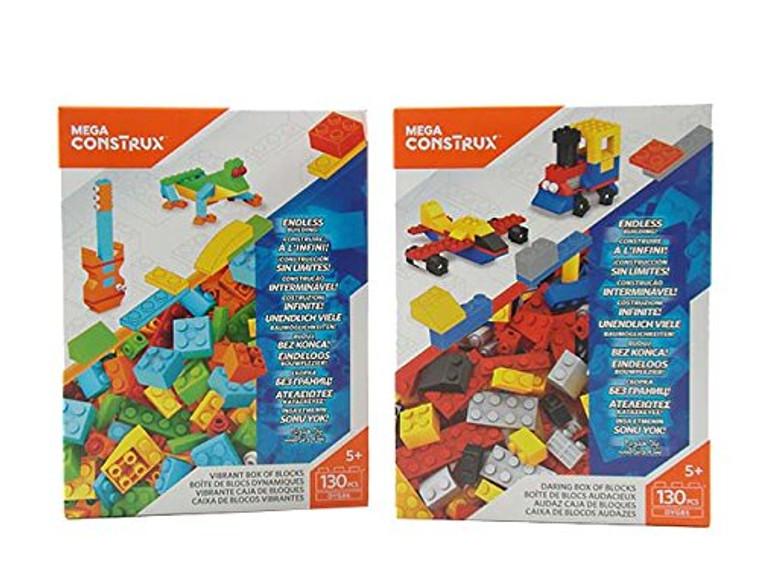 Mega Bloks Mega Bloks - Medium Box Of Blocks  - Assortment DYG84