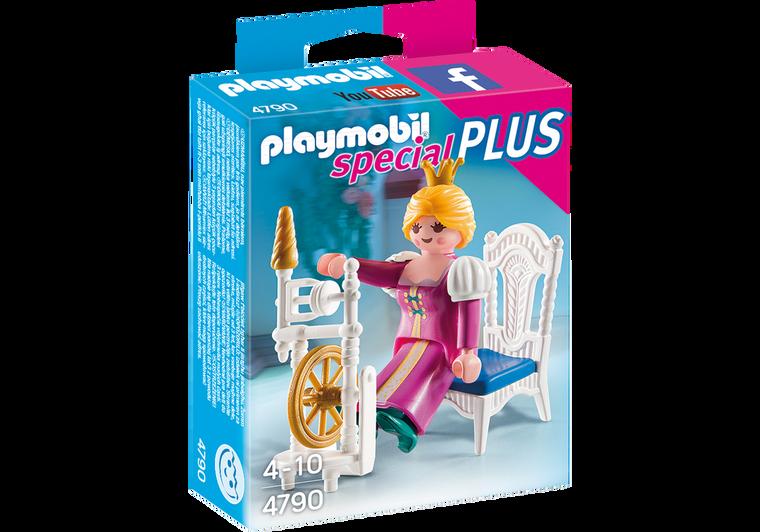 Princess with Weaving Wheel