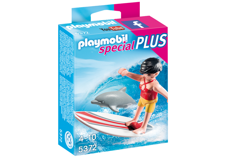 Playmobil Surfer with Surf Board 5372
